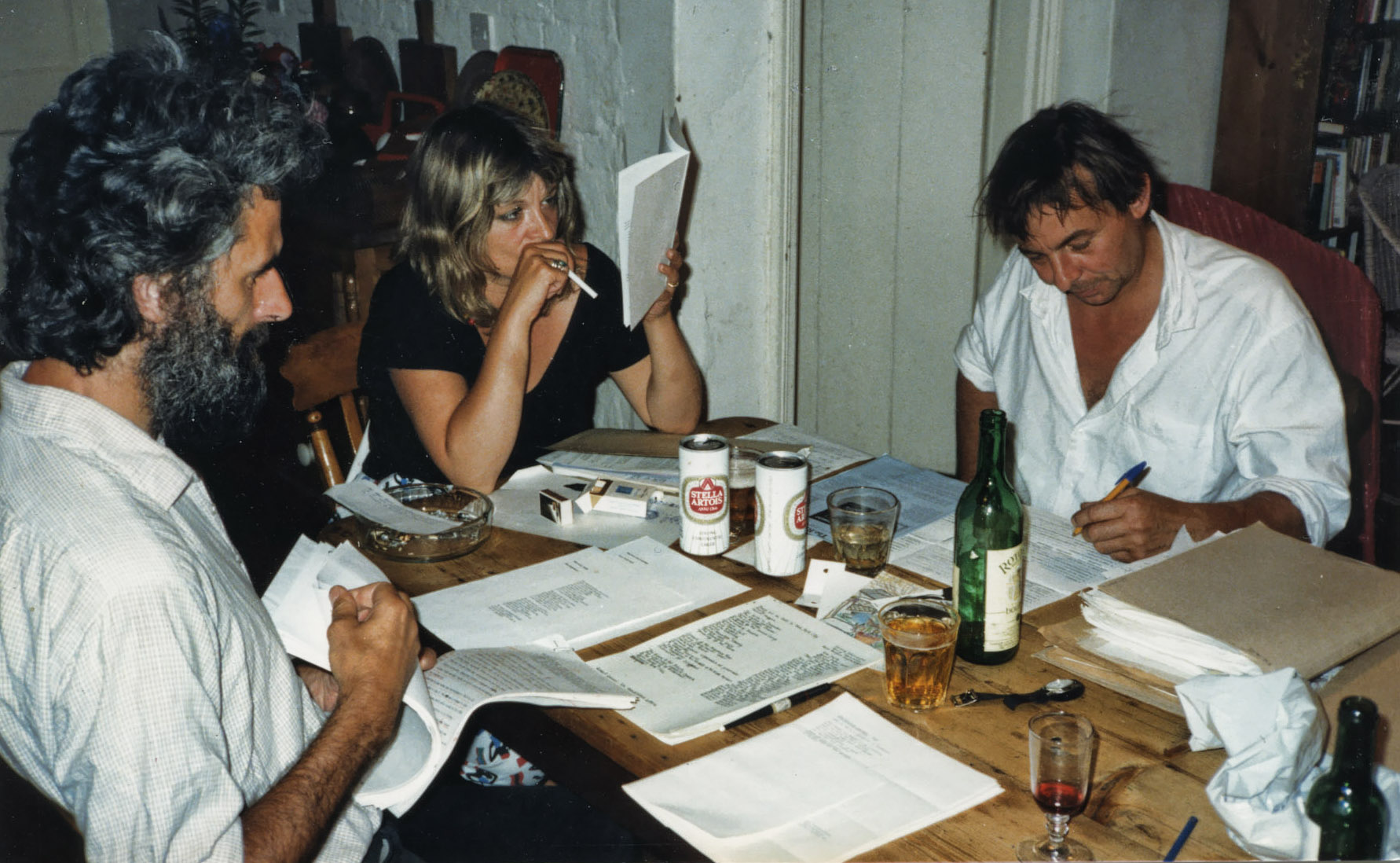 editorial meeting 1984