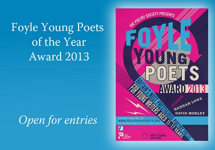 International poetry prize for young writers opens